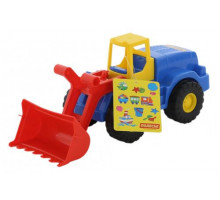 Детская игрушка  трактор-погрузчик Агат арт. 41852. Полесье