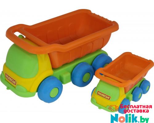 Детская игрушка  Кеша, автомобиль-самосвал + Яша, автомобиль-самосвал №266 арт. 4281. Полесье в Минске
