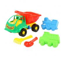 Детская игрушка автомобиль Муравей + формочки №49 арт. 3119. Полесье