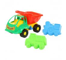Детская игрушка машинка Муравей + формочки (самосвал, паровоз) арт. 3126. Полесье