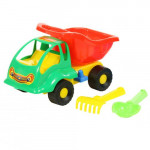 Детская игрушка машинка Муравей + совок №, грабельки арт. 3133. Полесье