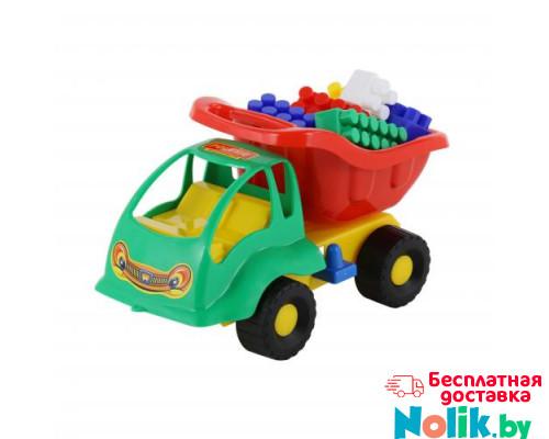 Детская игрушка автомобиль Муравей + конструктор СТРОИТЕЛЬ (12 элементов) арт. 3140. Полесье в Минске