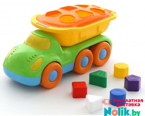 Детская игрушка автомобиль-самосвал логический Дружок арт. 48363. Полесье в Минске