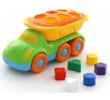 Детская игрушка автомобиль-самосвал логический Дружок арт. 48363. Полесье