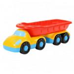 Детская игрушка автомобиль-самосвал с полуприцепом Дружок арт. 48486. Полесье