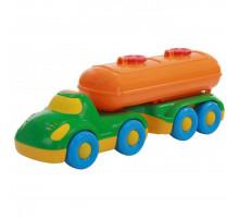 Детская игрушка автомобиль с полуприцепом-цистерной Дружок арт. 48493. Полесье