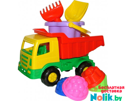 Детская игрушка автомобиль + набор №185 арт. 9080. Полесье в Минске