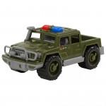 Автомобиль Полесье пикап военный патрульный Защитник арт. 63625