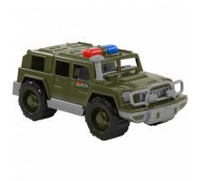 Детская машинка-джип военный патрульный Защитник арт. 63670. Полесье
