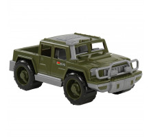 Детская игрушка автомобиль-пикап военный Защитник арт. 63809. Полесье