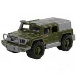Детская игрушка автомобиль-джип военный Защитник №1 арт. 63908. Полесье