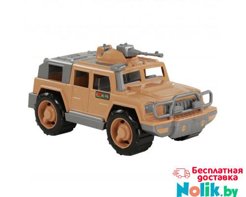 Детская игрушка автомобиль-джип военный Защитник-Сафари с 1-м пулемётом арт. 63502. Полесье в Минске