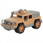 Детская машинка-джип военный Защитник-Сафари №1 с 1-м пулемётом арт. 63557. Полесье