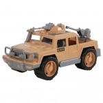 Детская игрушка автомобиль-пикап военный Защитник-Сафари с 2-мя пулемётами арт. 63403. Полесье