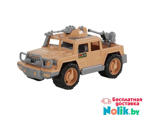 Детская игрушка автомобиль-пикап военный Защитник-Сафари с 2-мя пулемётами арт. 63403. Полесье в Минске