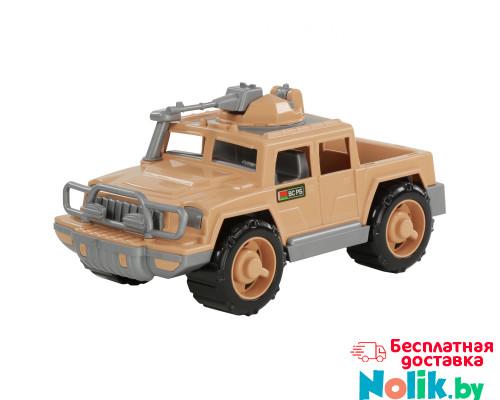 Детская игрушка автомобиль-пикап военный Защитник-Сафари с 1-м пулемётом арт. 63458. Полесье в Минске