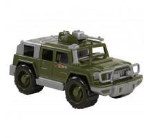 Детская машинка-джип военный Защитник с 1-м пулемётом арт. 64059. Полесье
