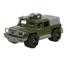 Детская машинка-джип военный Защитник №1 с 1-м пулемётом арт. 64103. Полесье