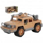 Детская игрушка автомобиль-пикап военный Защитник-Сафари с 2-мя пулемётами (в коробке) арт. 69009. Полесье