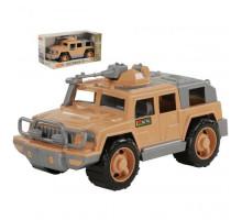 Детская игрушка автомобиль-джип военный Защитник-Сафари с 1-м пулемётом (в коробке) арт. 69108. Полесье