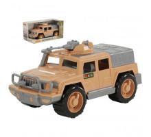 Машинка джип военный Защитник-Сафари №1 с 1-м пулемётом (в коробке) арт. 69153. Полесье