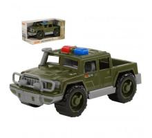 Детская игрушка автомобиль-пикап военный патрульный Защитник (в коробке) арт. 69238. Полесье