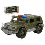 Детская машинка-джип военный патрульный Защитник (в коробке) арт. 69283. Полесье
