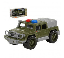 Детская игрушка автомобиль-джип военный патрульный Защитник №1 (в коробке) арт. 69337. Полесье