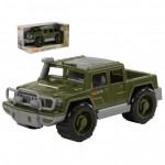Детская игрушка автомобиль-пикап военный Защитник (в коробке) арт. 69412. Полесье