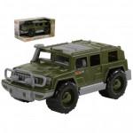 Детская игрушка автомобиль-джип военный Защитник (в коробке) арт. 69467. Полесье