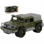 Детская игрушка автомобиль-джип военный Защитник №1 (в коробке) арт. 69511. Полесье