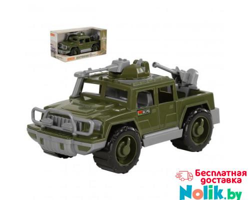 Детская игрушка автомобиль-пикап военный Защитник с 2-мя пулемётами (в коробке) арт. 69566. Полесье в Минске