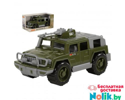 Детская игрушка автомобиль-джип военный Защитник с 1-м пулемётом (в коробке) арт. 69665. Полесье в Минске