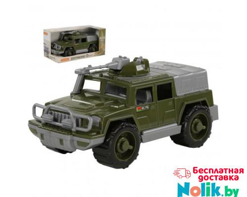 Детская игрушка автомобиль-джип военный Защитник с 1-м пулемётом (в коробке) арт. 69719. Полесье в Минске