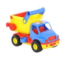 Детская игрушка автомобиль-самосвал (в сеточке) КонсТрак арт. 9654. Полесье