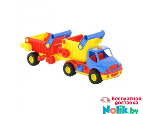 Детская игрушка автомобиль-самосвал с полуприцепом (в коробке) КонсТрак арт. 37718. Полесье в Минске