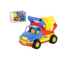 Детская игрушка автомобиль-бетоновоз (в коробке) КонсТрак арт. 37695. Полесье