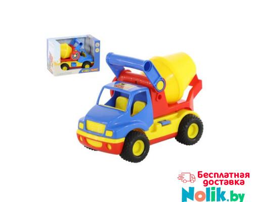 Детская игрушка автомобиль-бетоновоз (в коробке) КонсТрак арт. 37695. Полесье в Минске