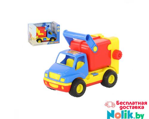 Детская игрушка автомобиль коммунальный, мусоровоз (в коробке) КонсТрак арт. 37688. Полесье в Минске