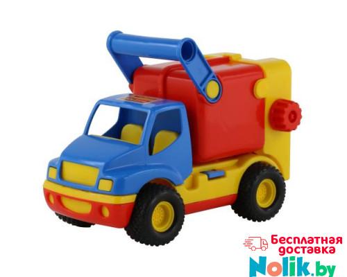 Детская игрушка автомобиль коммунальный, мусоровоз (в сеточке) КонсТрак арт. 8916. Полесье в Минске