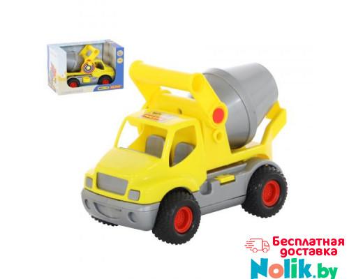 Автомобиль Полесье бетоновоз (жёлтый) (в коробке) КонсТрак арт. 44853 в Минске