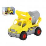Автомобиль Полесье бетоновоз (жёлтый) (в коробке) КонсТрак арт. 44853