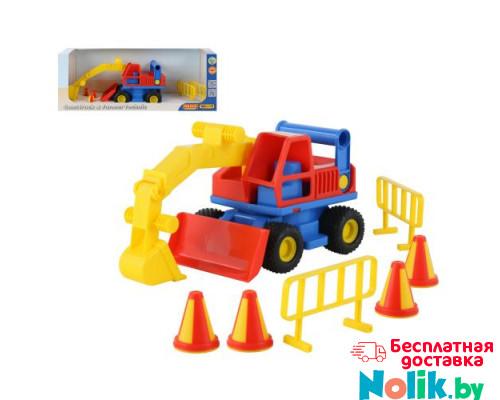 Детская игрушка  экскаватор колёсный (в коробке) КонсТрак арт. 37701. Полесье в Минске