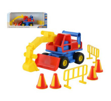Детская игрушка  экскаватор колёсный (в коробке) КонсТрак арт. 37701. Полесье