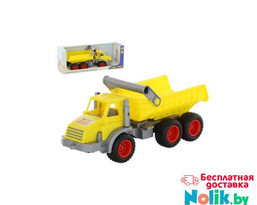 Детская игрушка  трёхосный автомобиль-самосвал (в коробке) КонсТрак арт. 37725. Полесье в Минске