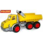 Детская игрушка  трёхосный автомобиль-самосвал (в сеточке) КонсТрак арт. 44877. Полесье