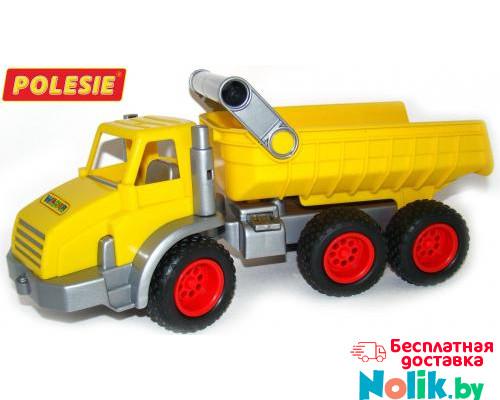Детская игрушка  трёхосный автомобиль-самосвал (в сеточке) КонсТрак арт. 44877. Полесье в Минске
