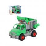 Машинка Полесье самосвал (зелёный) (в коробке) КонсТрак арт. 44822