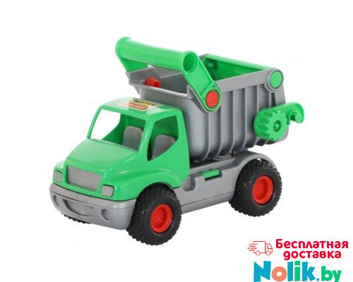 Детская игрушка автомобиль-самосвал (зелёный) (в сеточке) КонсТрак арт. 0575. Полесье в Минске