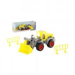 Детская игрушка  трактор-погрузчик (в коробке) КонсТрак арт. 37732. Полесье